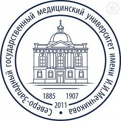 Лого синий